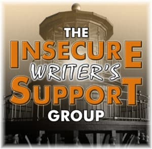 "Logo for the Insecure Writer's Support Group. Picture of a lighthouse with text reading ""THE INSECURE WRITER'S SUPPORT GROUP"""
